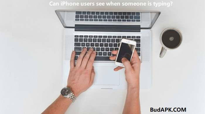 iPhone Users See Other Typing